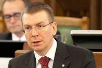 Глава МИД Латвии раскритиковал решение Еврокомиссии урезать помощь стране на 13%