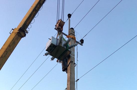 В Байдарской долине начали монтаж «умных» энергосетей