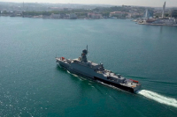 Россия отправит в Средиземное море новейший корабль с ракетами «Калибр»