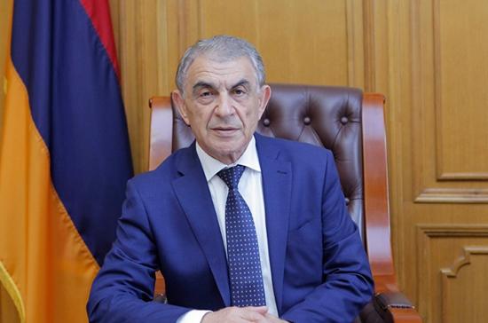 Баблоян пригласил Володина посетить Армению