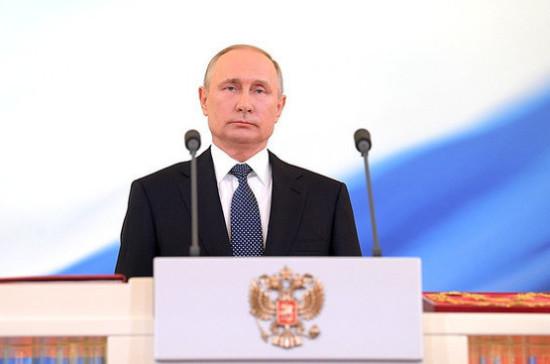 Путин счел несерьезным обсуждать идею о пожизненном президентстве