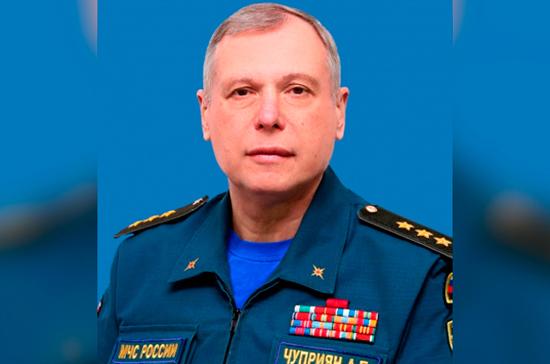 Путин назначил Александра Чуприяна первым замглавы МЧС