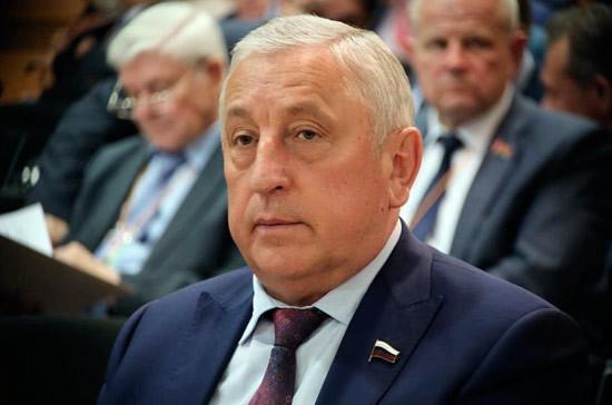 Харитонов предложил создать исполком международного парламентского форума