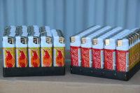 Таможенники Приморья задержали 40 тысяч поддельных зажигалок Coca-Cola и Red Bull