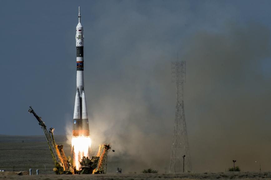 Роскосмос будет транслировать пуски ракет с бортовых видеокамер