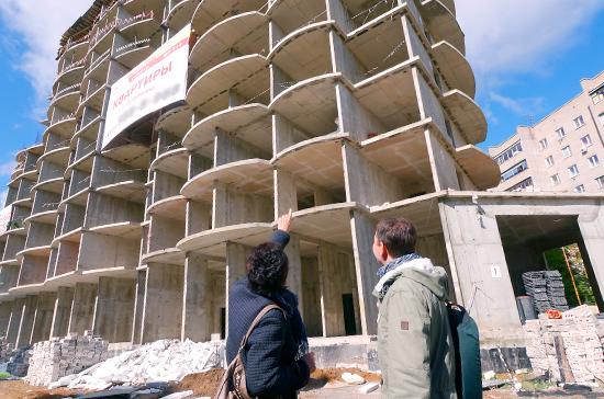 Число проблемных объектов долевого строительства за январь-март выросло на 150 домов