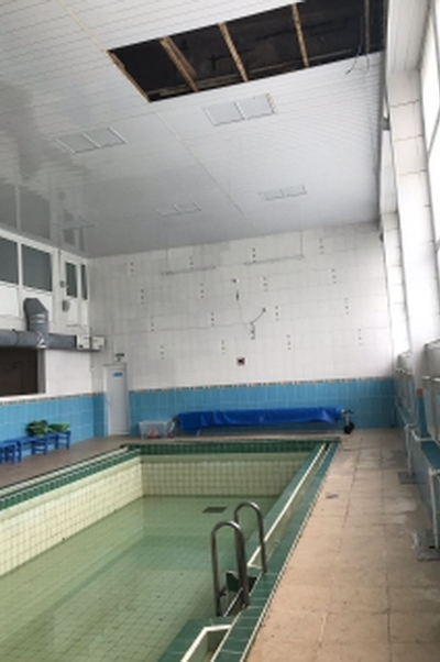 В Ленобласти возбудили дело по травмированию детей при обрушении потолка в бассейне