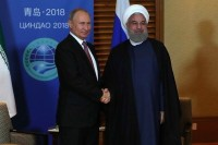 Путин на встрече с Роухани отметил успешное сотрудничество с Ираном по Сирии
