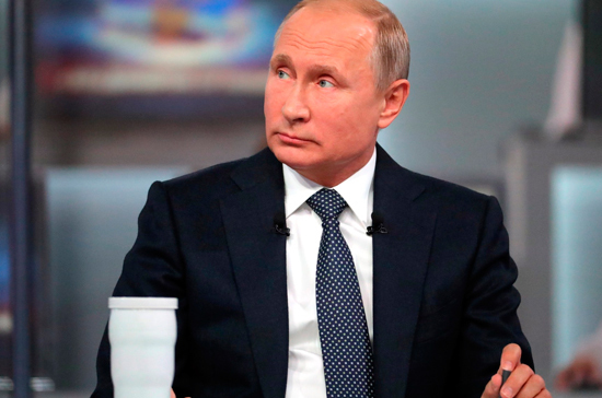 Путин подвел итоги «прямой линии»