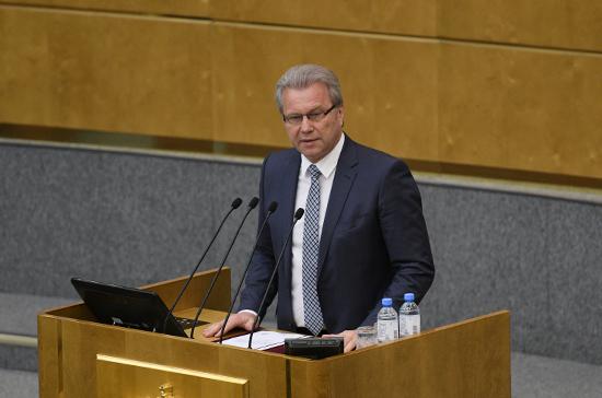 В Госдуме оценили переназначение Минха представителем президента
