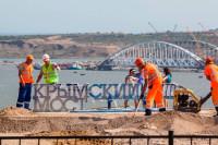 На Крымском мосту установлен новый рекорд интенсивности движения