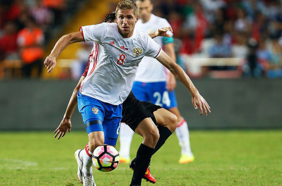 Сборная России открыла счёт в первом матче ЧМ-2018