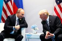 В Кремле назвали предполагаемое время встречи Путина и Трампа