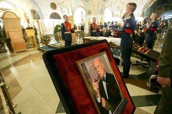 Станислава Говорухина похоронили на Новодевичьем кладбище