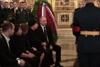 Путин в Храме Христа Спасителя простился с Говорухиным