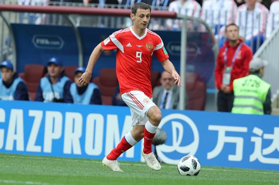 Алан Дзагоев не сыграет с Египтом и Уругваем на ЧМ-2018