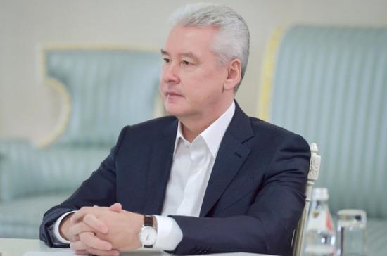 Сергей Собянин поздравил народного артиста Юрия Соломина с днём рождения
