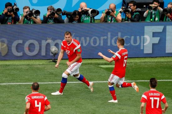 Сборная России впервые в истории вышла в плей-офф ЧМ по футболу