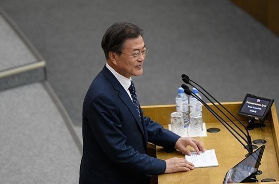 Президент Южной Кореи надеется, что Транссиб дойдёт до юга полуострова Пусан