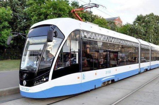 В Москву поступили обновлённые трамваи «Витязь-М»