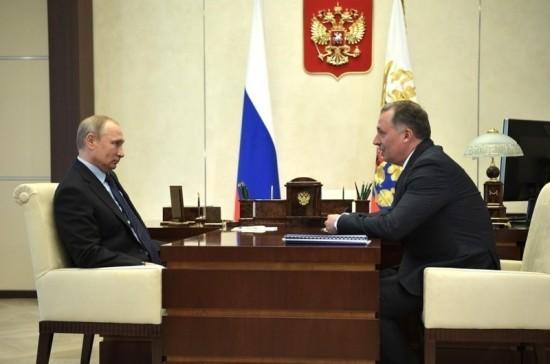 Путин призвал ОКР активизировать работу для развития отечественного спорта
