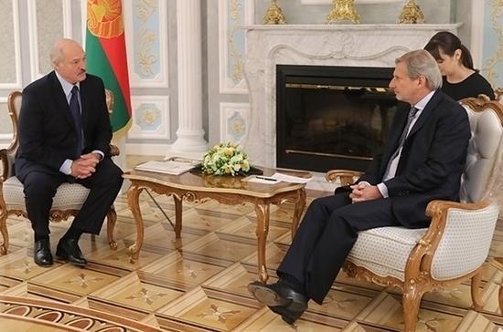 ЕС подпишет с Белоруссией соглашение о приоритетах партнёрства в этом году