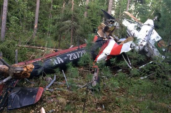 СК возбудил уголовное дело по крушению вертолета МИ-2 в ХМАО и гибели пилота