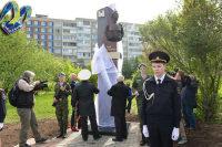 В сквере Мурманска открыли стелу с бронзовой скульптурой в честь Зои Космодемьянской