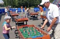 В парках Москвы заработали бесплатные футбольные аттракционы