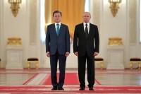 Путин и Мун Чжэ Ин приняли совместное заявление по итогам встречи в Москве