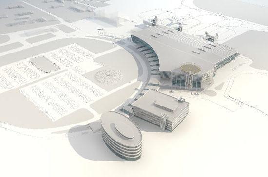На Сахалин прибыла первая партия металлоконструкций для строительства нового аэровокзала