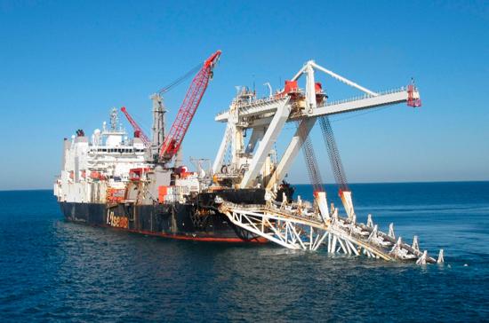«Газпром» продолжил укладку второй нитки «Турецкого потока»