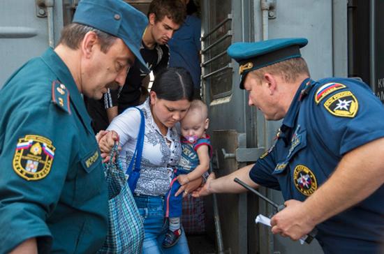 Власти Ростовской области посодействуют беженцам с юго-востока Украины в обустройстве в РФ