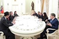 Путин не обсуждал с Болтоном вопрос санкций, заявил Ушаков