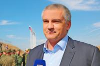 Аксенов назвал пиар-акцией военные учения Украины на границе с Крымом