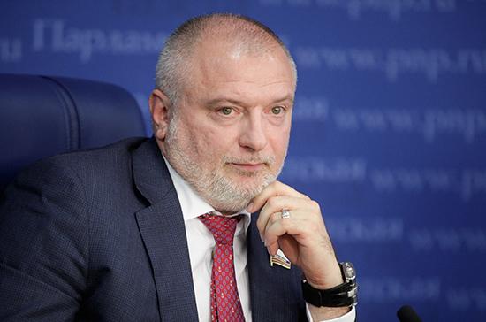 Клишас провел встречу с заместителем Председателя Конституционного суда Узбекистана