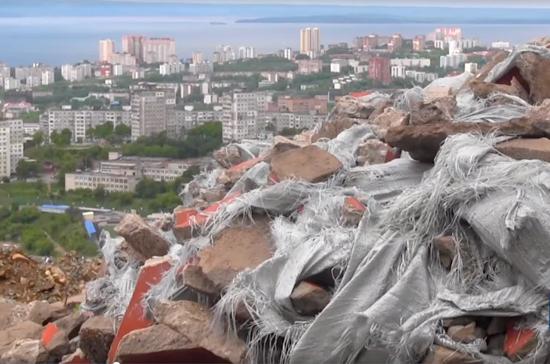 Туристические места Владивостока обрастают мусором