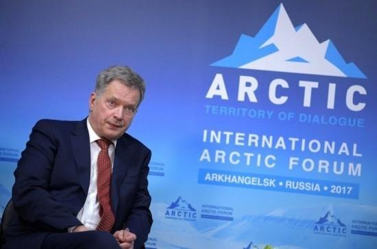 Президент Финляндии планирует обсудить с Путиным и Трампом ситуацию в Арктике