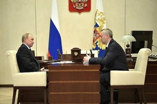 Путин поручил начать работу по развитию комплекса аэропортов в Сибири