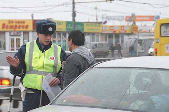 Инспектора ГИБДД камера на дороге не заменит