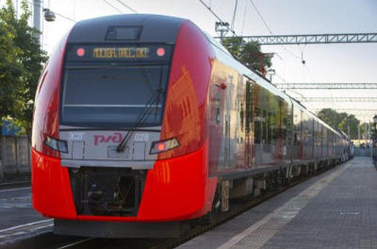 На калининградских пригородных поездах «Ласточка» включили бесплатный Интернет
