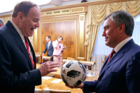 В российском парламенте приняли коллег из США