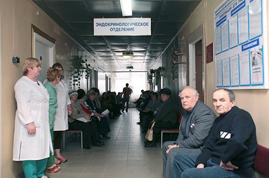 В Смоленской области в ожидании рентгена в поликлинике умер пенсионер