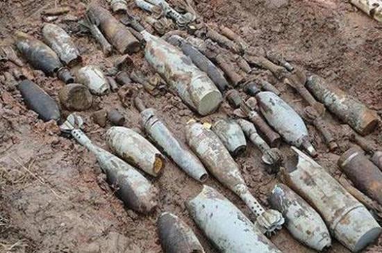 В Ростовской области местный житель нашёл более полусотни боеприпасов времён ВОВ
