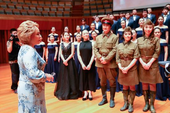 Матвиенко рассказала об опере «А зори здесь тихие…» в постановке Большого театра Китая