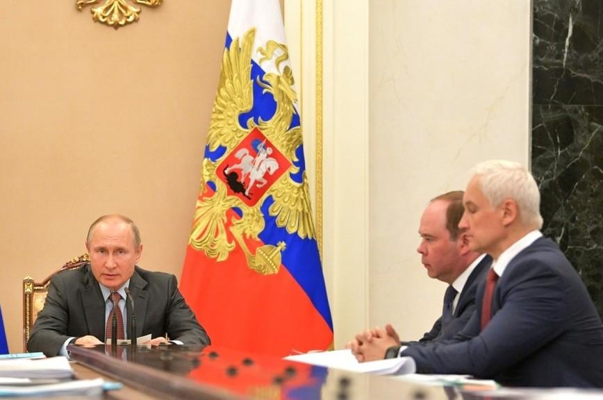 Путин: надо придать дополнительный стимул развитию отечественной экономики