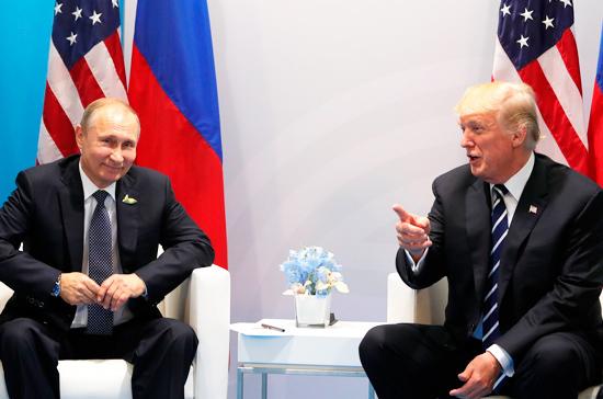 Путин и Трамп проведут встречу один на один в Хельсинки