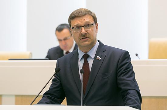 Косачев: российско-американский межпарламентский диалог разморожен