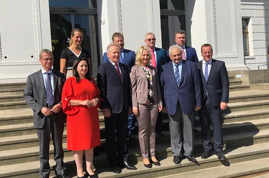 Права инвалидов и региональное сотрудничество: что обсудили парламентарии России и ФРГ