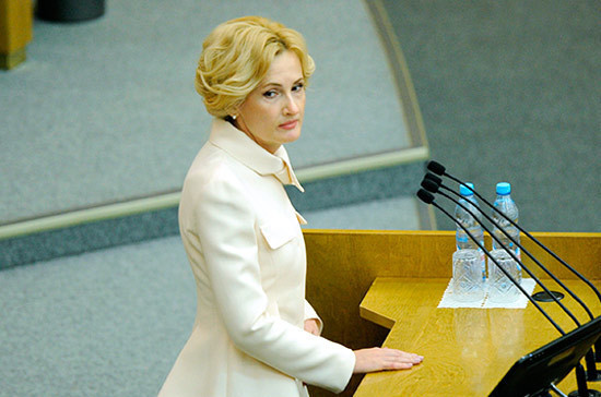 Яровая призвала парламентариев посещать памятники советским воинам в ходе зарубежных поездок